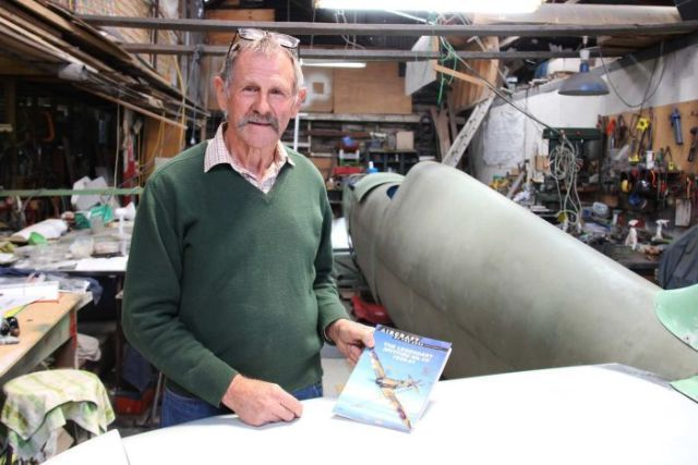 Rod McNeill's had a life-long obsession with Spitfire aircraft