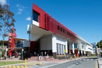 The Library and Learning Commons at Griffith University's Gold Coast campus.
