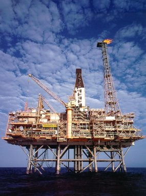 oil rig image