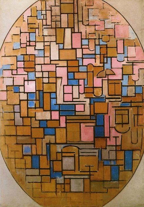 Girl In Woods Wallpaper Piet Mondrian Tableau Iii