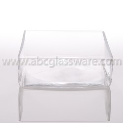 Regaling Featured Crystal Weightybases Abc Glassware This Clear Square Glass Vases Are Handmade From Glass A Cut Andpolished Our Square Glass Vases Square Vases Set