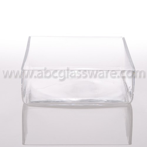 Medium Of Square Glass Vases