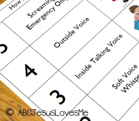 Activity  Behavior Charts ABCJesusLovesMe