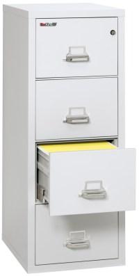 Fireproof Fireking 25 Vertical 4 Drawer Legal File Cabinet ...