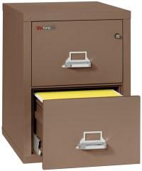 Fireproof Fireking 25 Vertical 2 Drawer Letter File ...