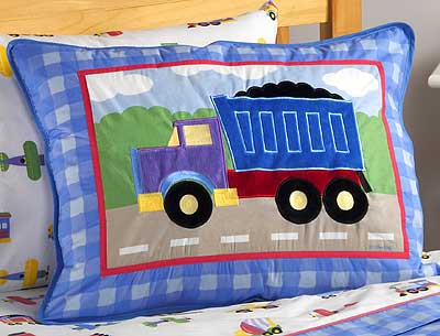 Olive Kids Bedding Standard Sham Of Trains Planes