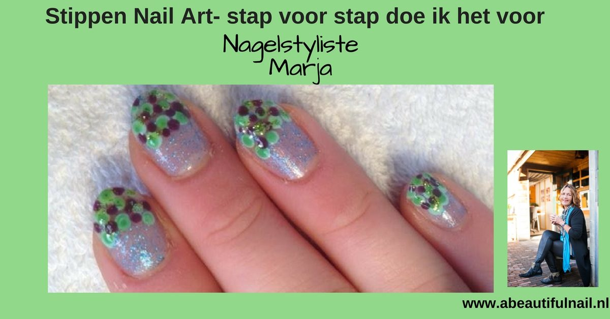 Stippen Nail Art Stap Voor Stap Doe Ik Het Voor A