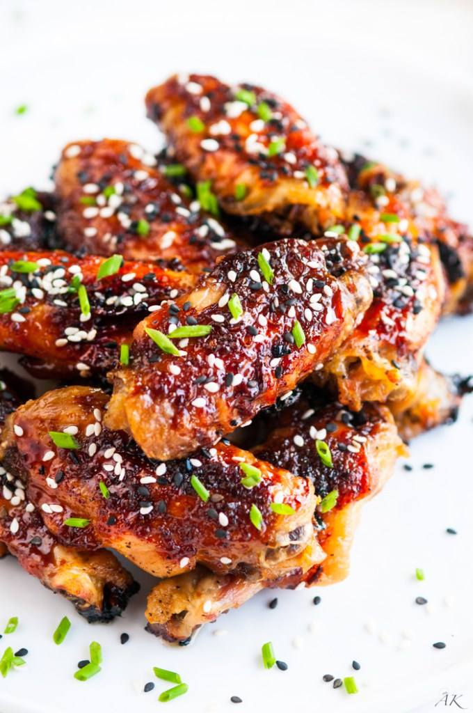 and spicy baked orange chicken wings in 3 2 1 sweet and spicy baked ...