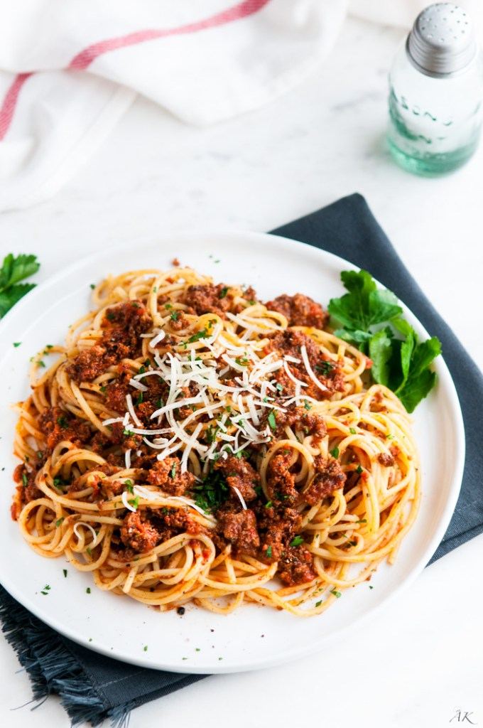 Simple Spaghetti Beef Sauce - Aberdeen's Kitchen