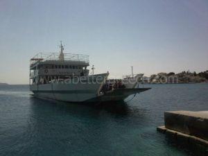 Spetses ships, Saronic Gulf, Greece