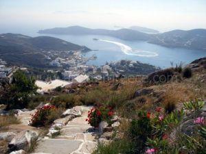 Ios view Cyclades Greece