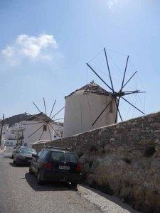 Chora on Serifos, Cyclades, Greece
