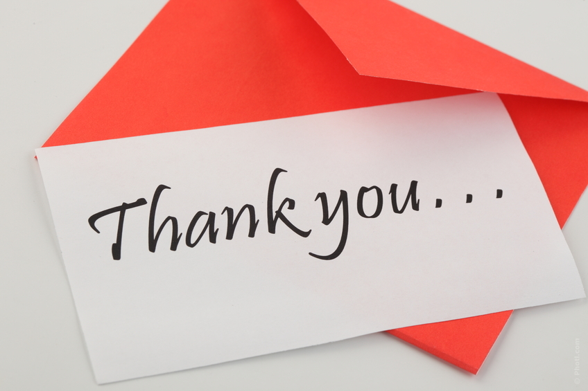 Give Thanks 4 Tips To Send A Better Thank You Note - thank you note