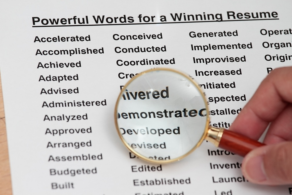 4 Words To Supercharge Your Resume