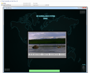 WPF Video APP from CD / DVD