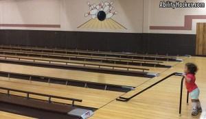 Inclusive bowling ramp