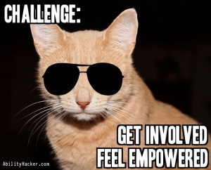 Get involved. Feel empowered.