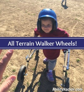 All Terrain Walker Wheels - Making T-Ball Possible