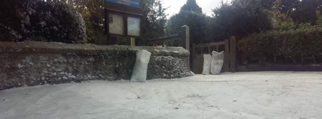 fake snow pic