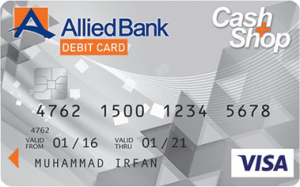 Allied Cash+Shop Visa Debit Card - Allied Bank Limited