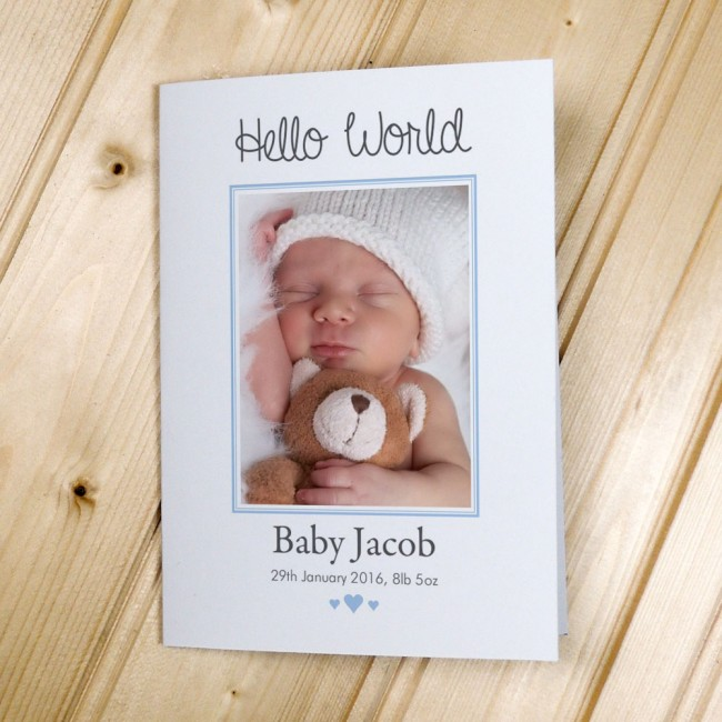 Birth Announcement Cards - Cards  Invitations - Personalised