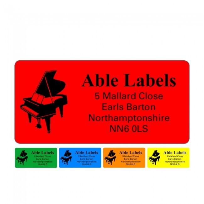 32x63mm Address Labels  Stickers - Able Labels