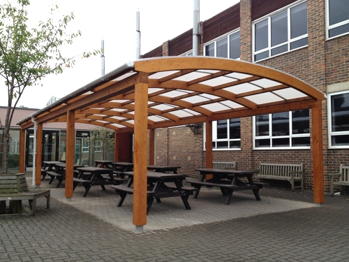 Cool Facts Glulam Timber Able Canopies