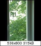 Riss in Fensterscheibe