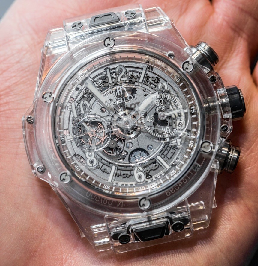 hublot big bang unico sapphire watch hands
