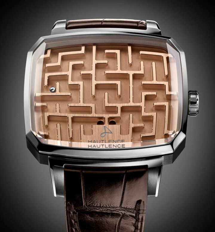 Hautlence Playground Labyrinth 'Watch' Is Nothing But A Fancy Ball Maze Game Watch Releases