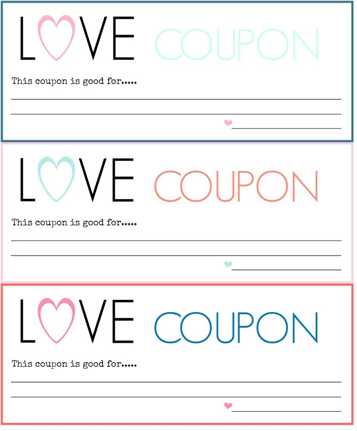 love coupon template - Idealvistalist - printable coupon templates free