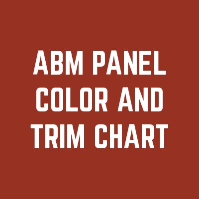 ABM Panel Metal Roofing Panel from AB Martin Roofing Supply