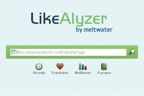 Un outil d'analyse pour votre page facebook