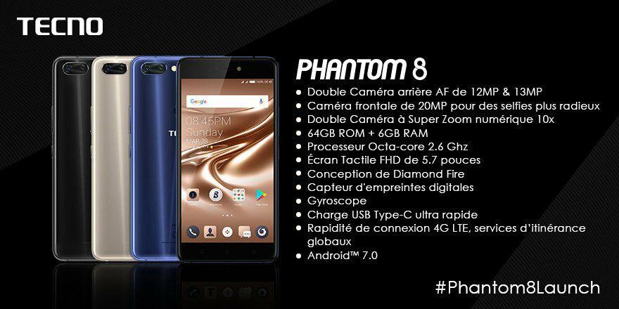 """Résultat de recherche d'images pour """"tecno phantom 8,"""""""