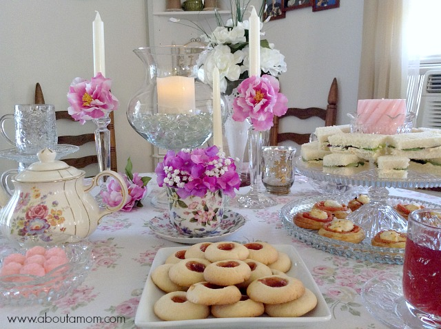Mother\u0027s Day Tea Party Inspiration - About A Mom