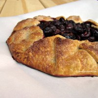 Rustic Cherry Tart {Recipe} - About A Mom