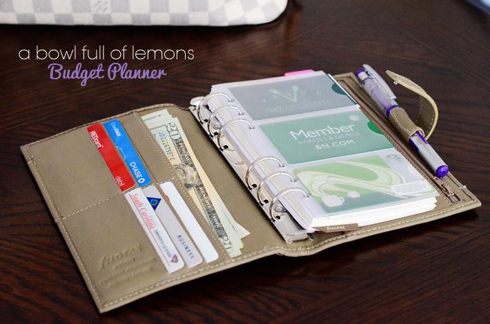 budget wallet organizer