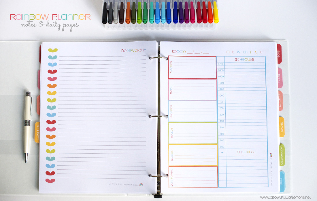 free day planner template 2015 - Funfpandroid
