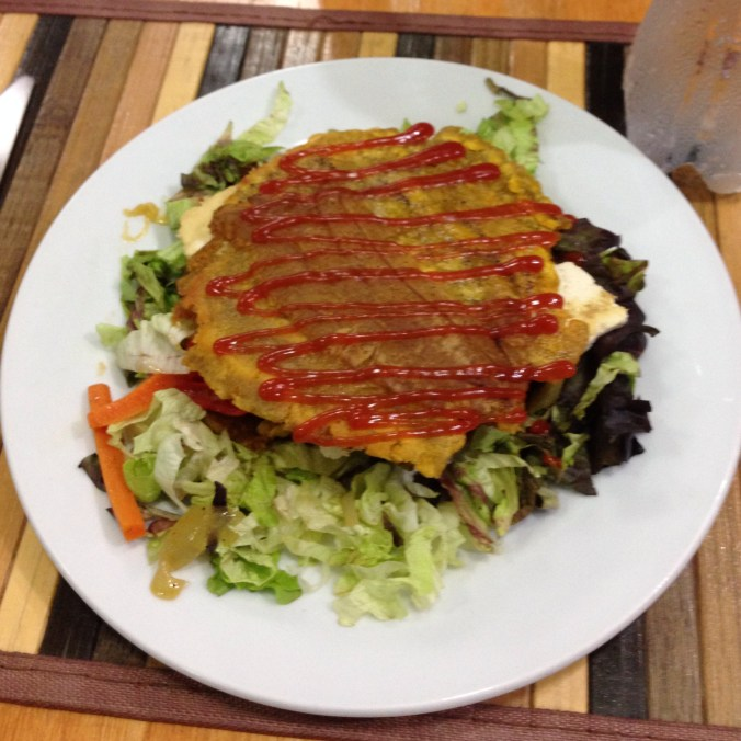 vegan patacon at kaxapa factory