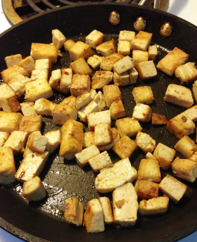 browned tofu
