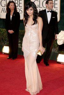 Vanessa hudgens en los Golden Globes 2009