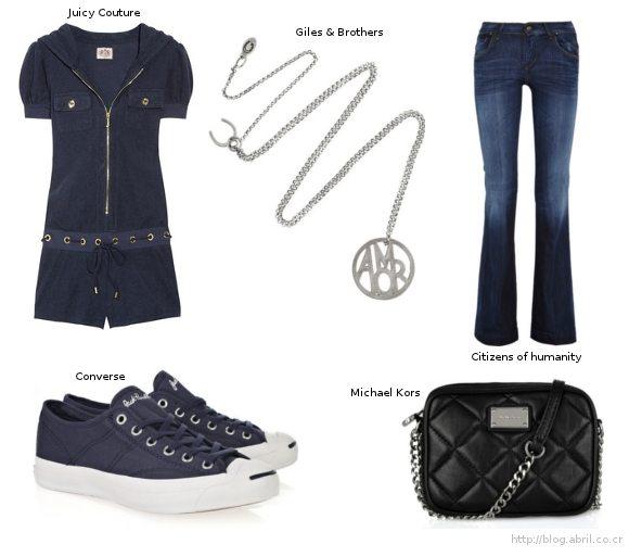 Diseño de modas estadounidense... Casual Wear