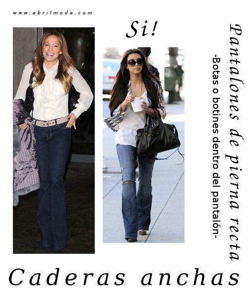 Consejos de estilo: como usar botas y pantalones si se tienen caderas anchas