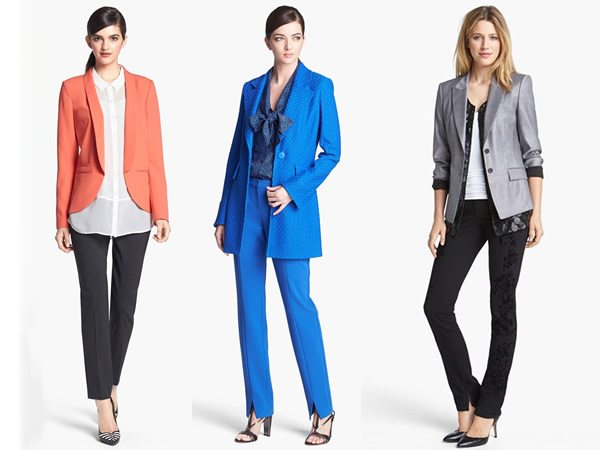 Opciones coloridas y sofisticadas para ir a la oficina