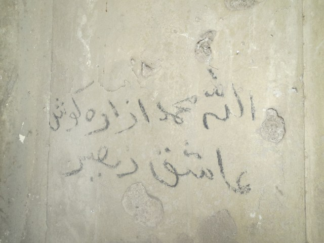 Some sentiments from the mujahideen...