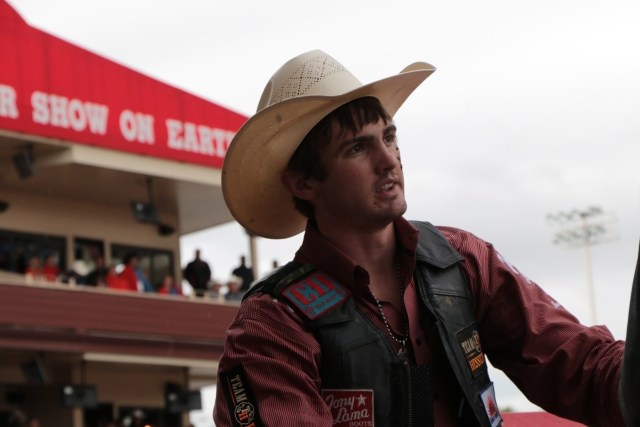 Cody Teel, Calgary Stampede riding champion.