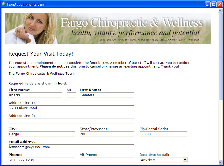 Affordable Appointment Software Online Scheduling Requests