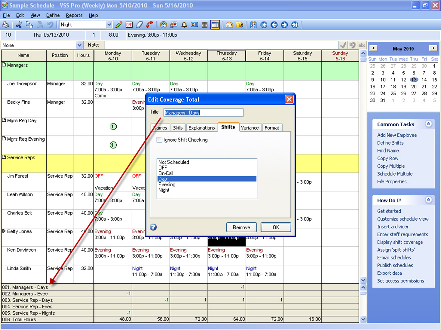 Employee Scheduling Software for Transportation Company