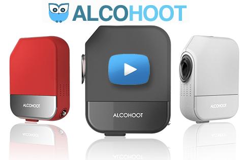 AlcoHoot Smartphone Tablet Breathalyzer App