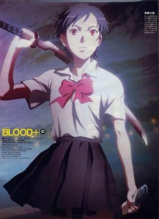 Anime Red Hair Girl Wallpaper Saya Otonashi Blood Absolute Anime